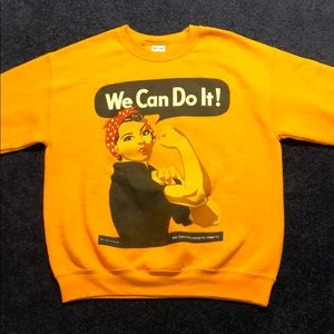 "Rosie The Riveter ""We Can Do It!"" Crewneck"